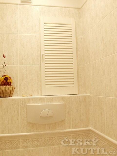 Rekonstrukce koupelny v paneláku – 3. díl