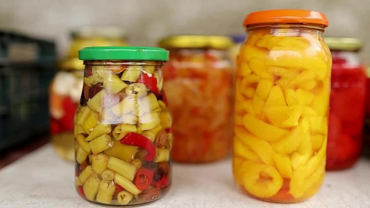 Sterilované papriky