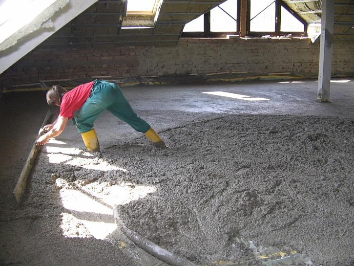 Teplý beton