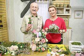 Vyrobte si jarní květinový etažér