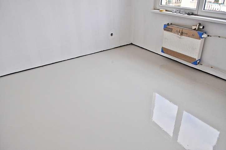 Vyrovnaná podlaha