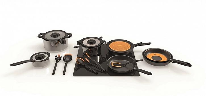 Kuchyňské nádobí Functional Form od Fiskars je vhodné pro všechny typy varných desek
