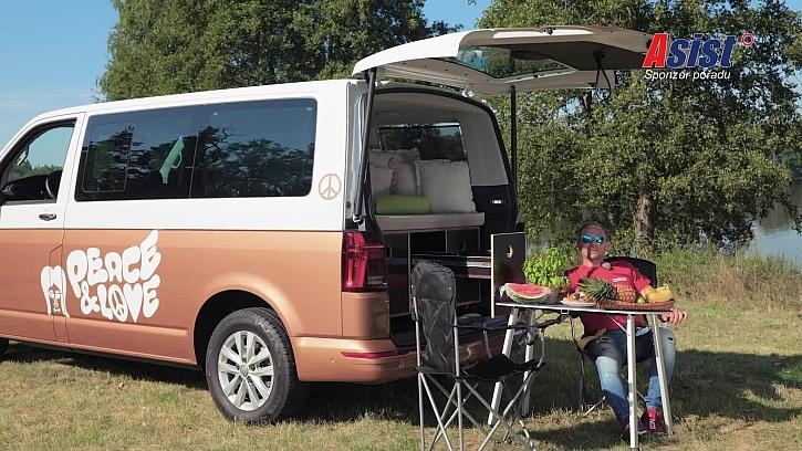 Camp vestavba do auta