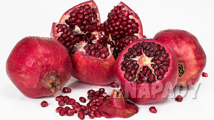 Granátové jablko je účinnýmantioxidantem, zlepšuje trávení, zvyšuje hladinu testosteronu, podporuje imunutu