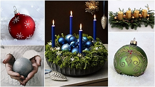 Vánoční barvy: Možná se budete divit, co ovás prozradí sváteční výzdoba