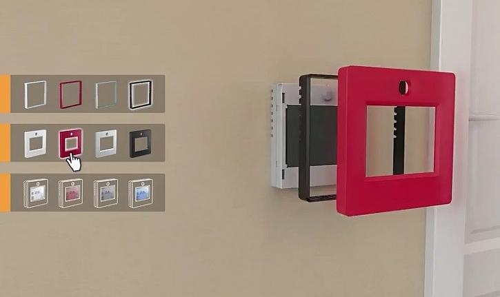 Termostat jako designový doplněk interiéru
