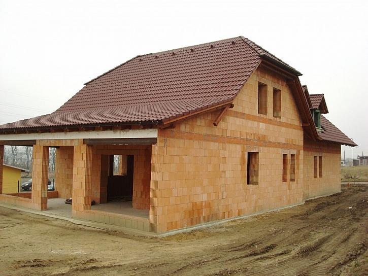 Postavit nízkoenergetický dům bez zateplení není složité