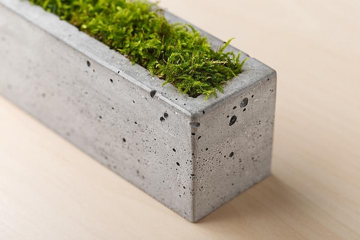Truhlík z betonu