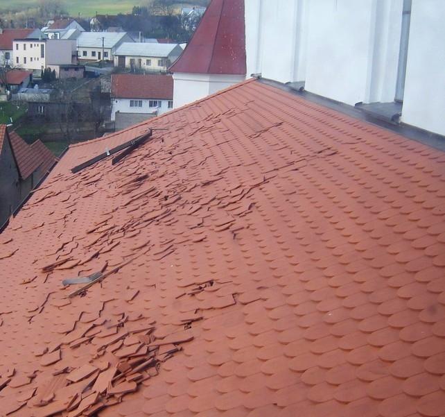Začínáme vizuální kontrolou střechy