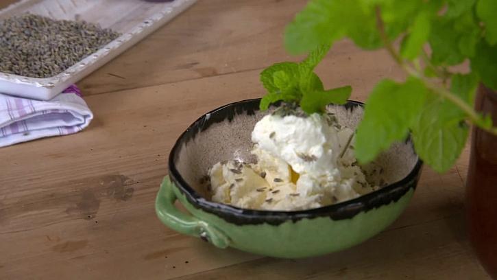 Recept na levandulovou zmrzlinu