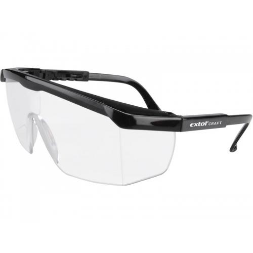 EXTOL CRAFT Brýle ochranné, čiré