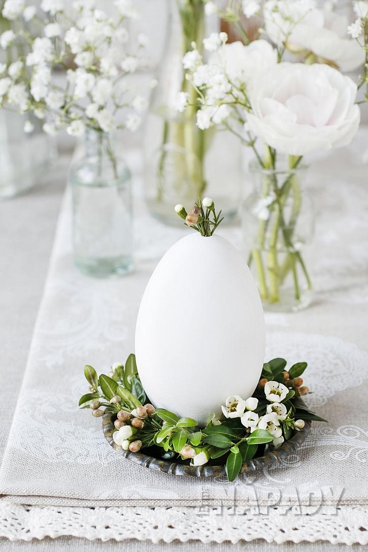 Velikonoční hnízdo na vajíčko (Zdroj: Depositphotos.com)