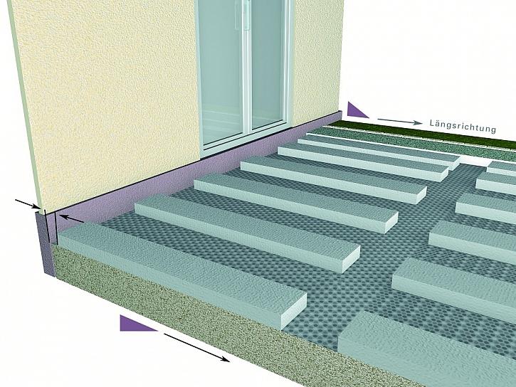 1) Vyznačení plochy, příprava podkladu