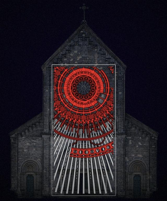 Weltraumgrafik_The Wind_Kostel_sv._Cyrila_a_Metodeje