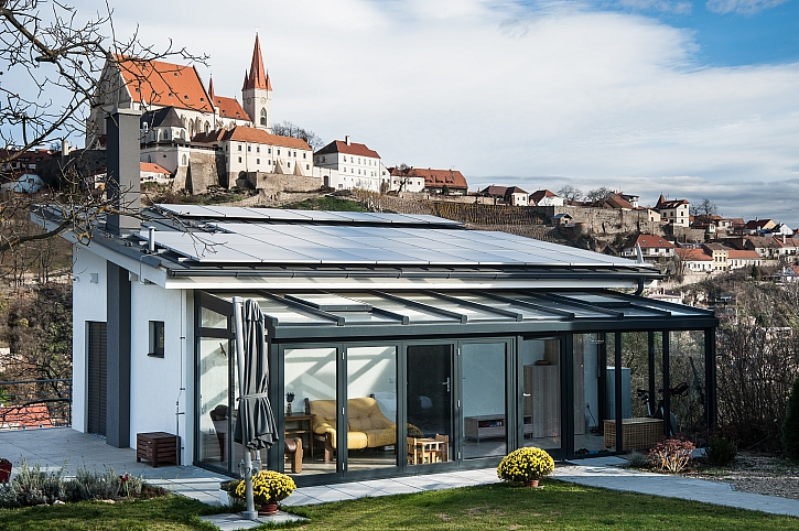 Na co myslet, když plánujete zimní zahradu (Zdroj: ham.cz)