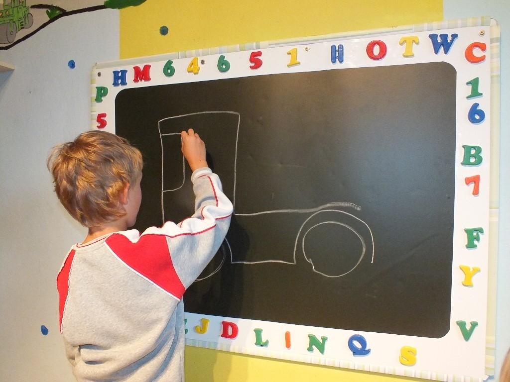 Tabulová fólie pro malého školáka