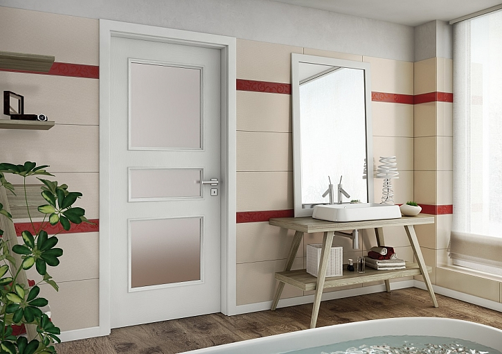 Bílé interiérové dveře jsou nadčasové a elegantní