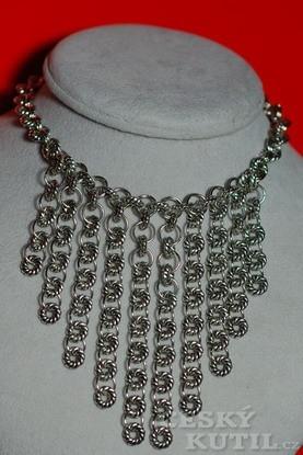Kroužkový náhrdelník