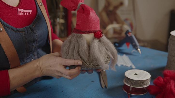 Návod na výrobu vánočního skřítka. (Zdroj: Vánoční skřítek)