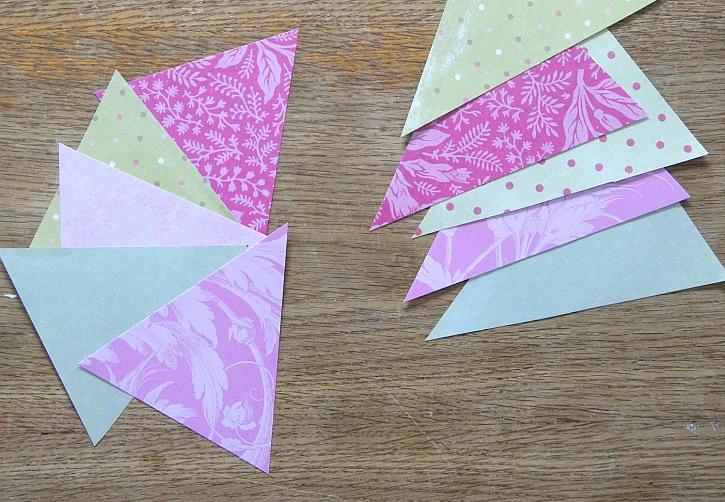 Vystřihněte trojúhelníky