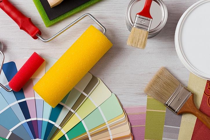 Techniku nátěru zvolíme podle materiálu a natírací hmoty (Zdroj: Depositphotos)