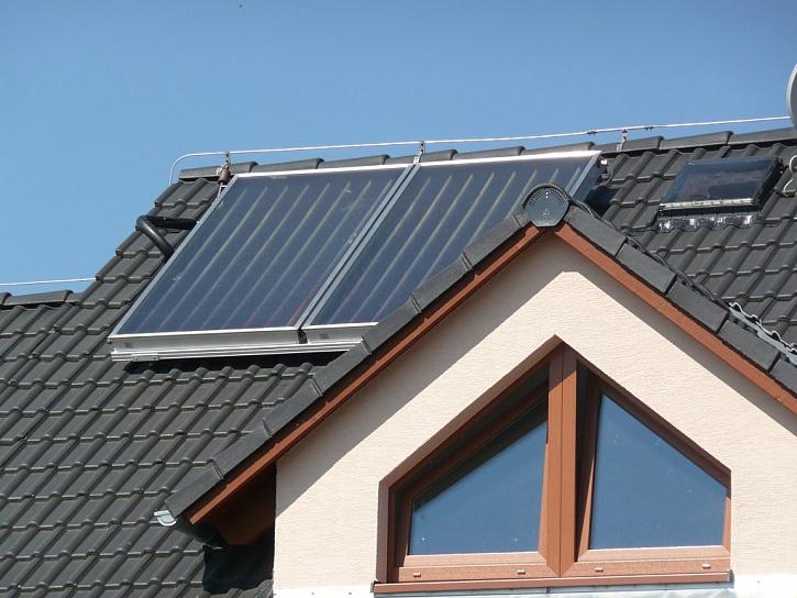 Úsporný solární systém na ohřev vody KM Beta