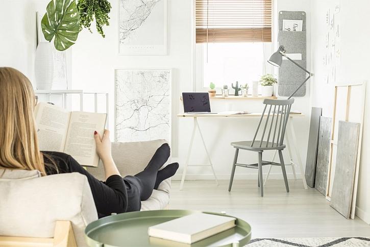 Pracovat se dá i v obývacím pokoji