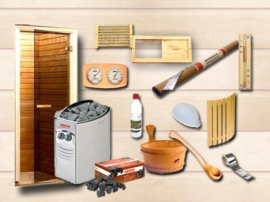 Tip na nákup setu pro stavbu sauny