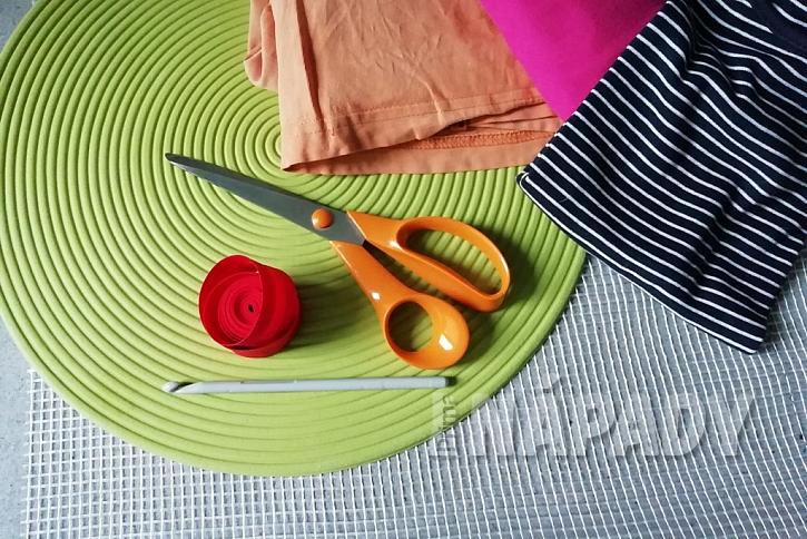 Čichací kobereček: co budete potřebovat