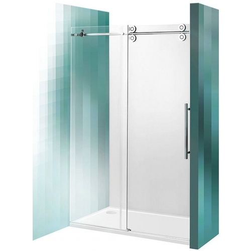 ROLTECHNIK Posuvné sprchové dveře do niky KID2/2000 brillant/transparent 970-2000000-00-02