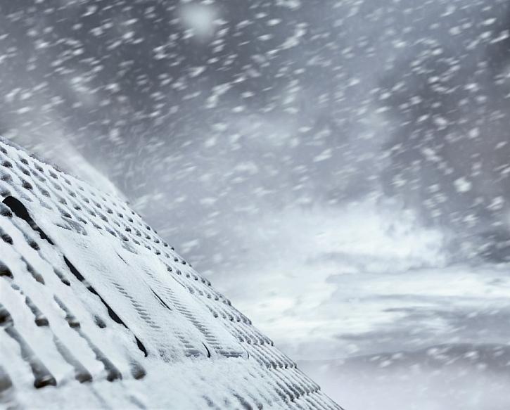 Úspora energie - v zimním období zabraňuje úniku tepla a snižuje tepelné ztráty až o 17 %