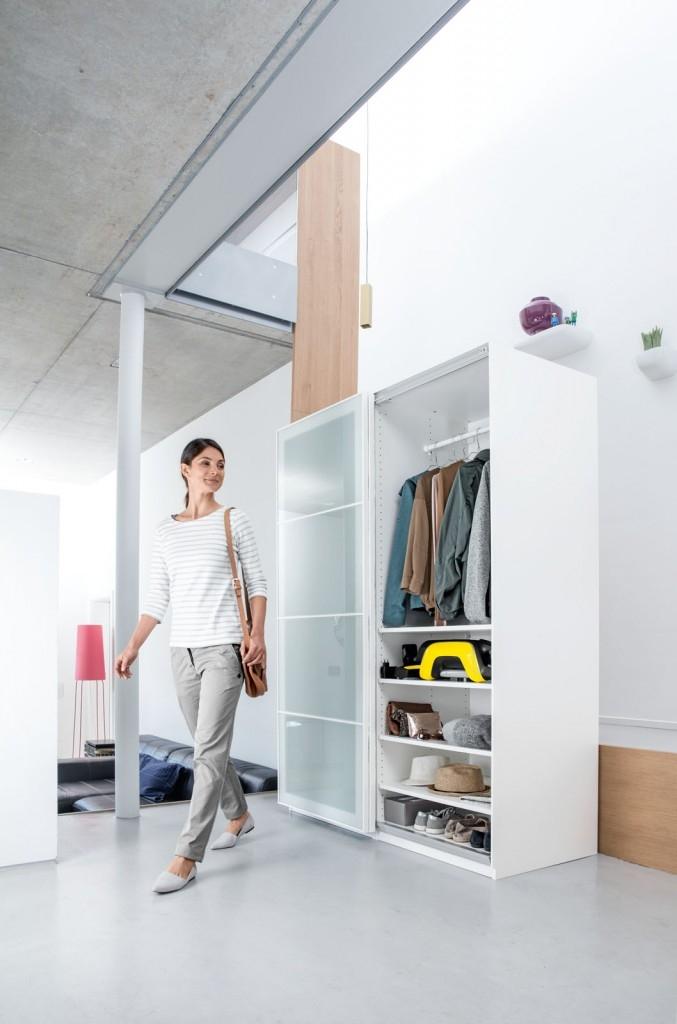 Vyluxovat celý byt bez použití zásuvky
