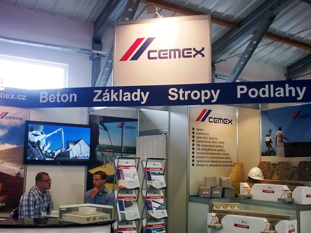 CEMEX zve na veletrh FOR PASIV