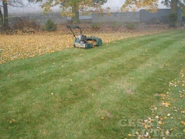 Kvalitní trávník vyžaduje pravidelnou péči