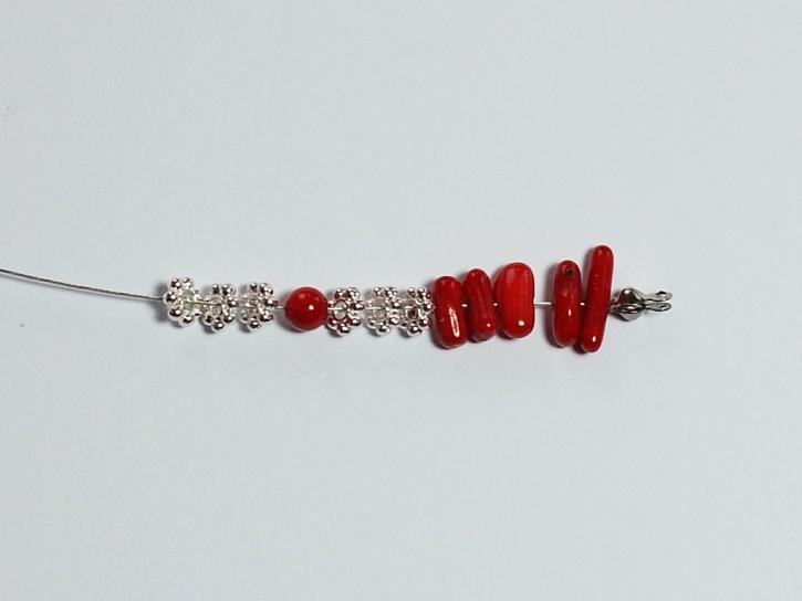 Jak vyrobit náhrdelník červené korály