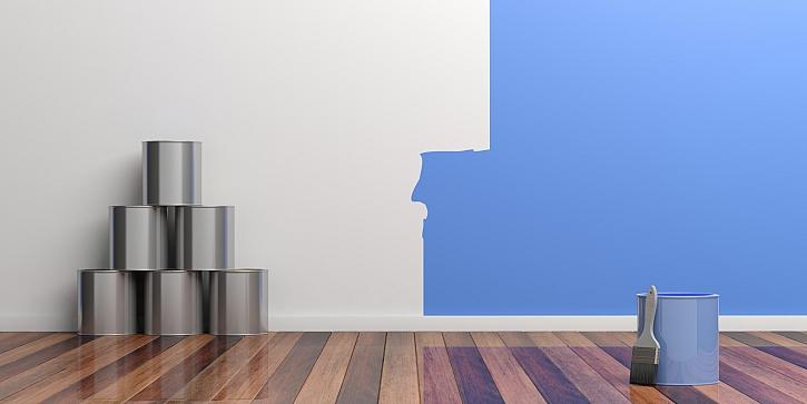 Přípravy na jarní malování v interiéru. Začněte odstraněním škodlivých plísní ze zdí (Zdroj: Depositphotos)