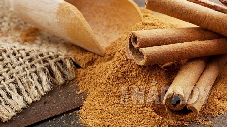 7 druhů koření na podporu hubnutí: skořice (Cinnamomum)
