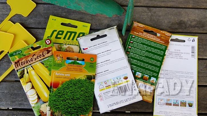 Co se o semínku dozvíte ze sáčku: všechny dostupné informace si dobře pročtěte