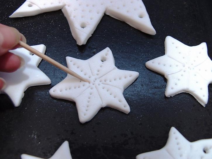 Výroba hvězdičkového závěsu z modelitu