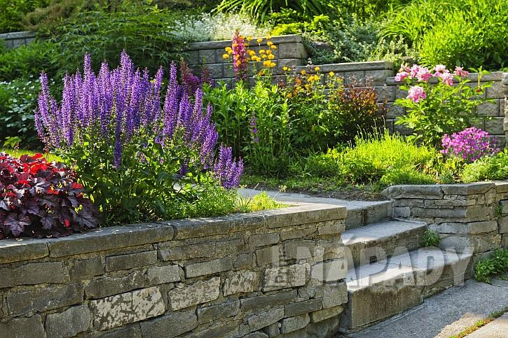 Terasová zahrada