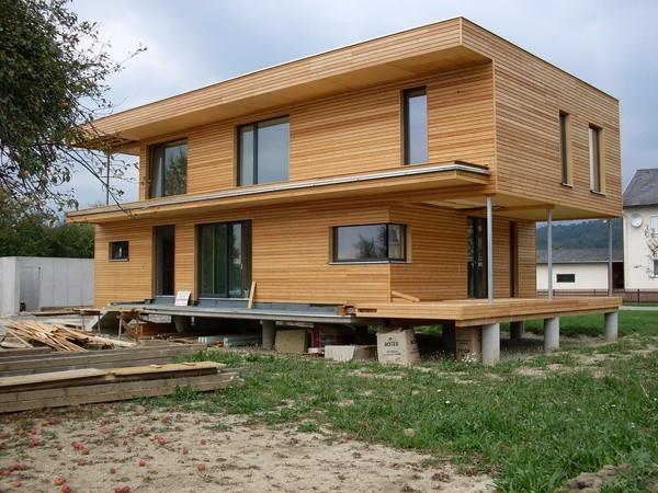 Bezúdržbová dřevěná fasáda