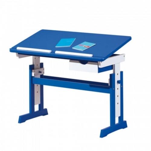 PACO psací stůl modro/bílý