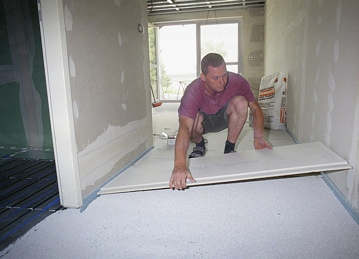 FERMACELL II. - pokládka podlahových prvků