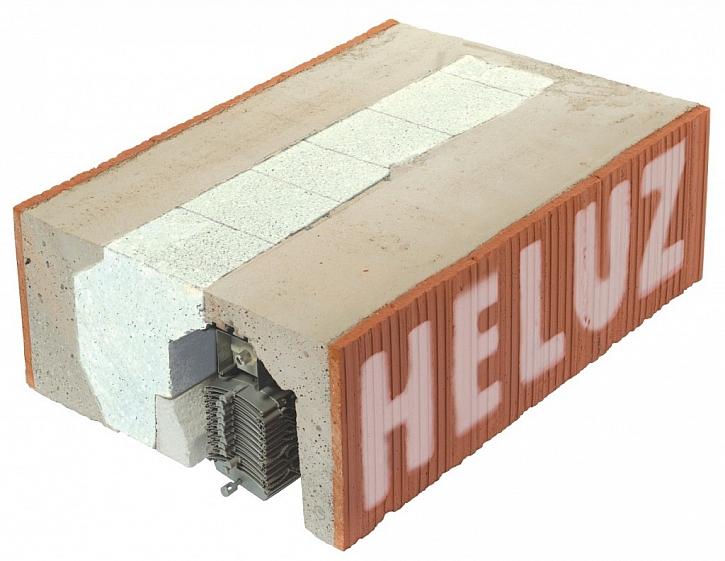 Nosný žaluziový a roletový překlad HELUZ  je součástí kompletního cihelného systému HELUZ