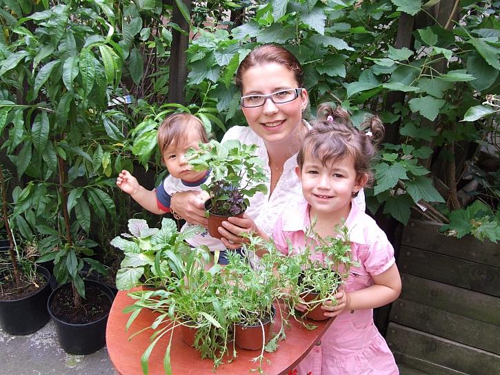 Asijská zelenina chutná i dětem (Zdroj: Daniela Dušková)