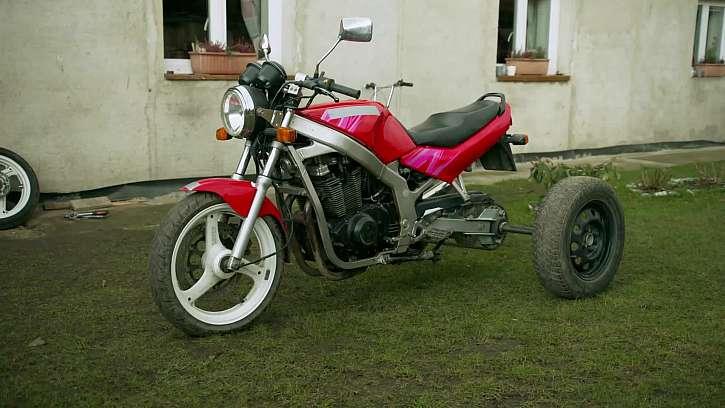 Předělaná motorka
