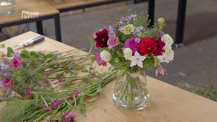 Připravte si aranžmá z vlastnoručně vypěstovaných květin (Zdroj: Aranže z podzimního kvítí)