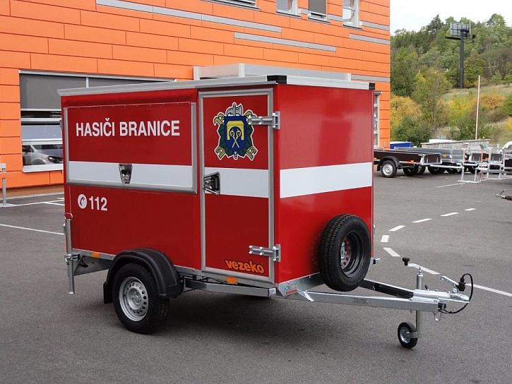 Přívěsy VEZEKO jsou u hasičů populární