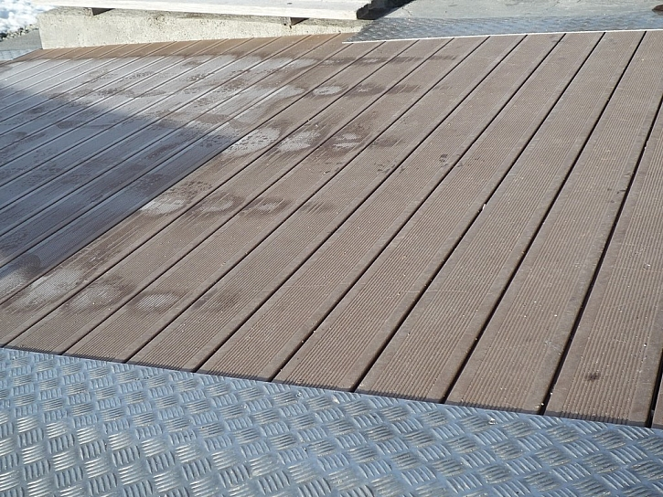 Snadná očista terasy