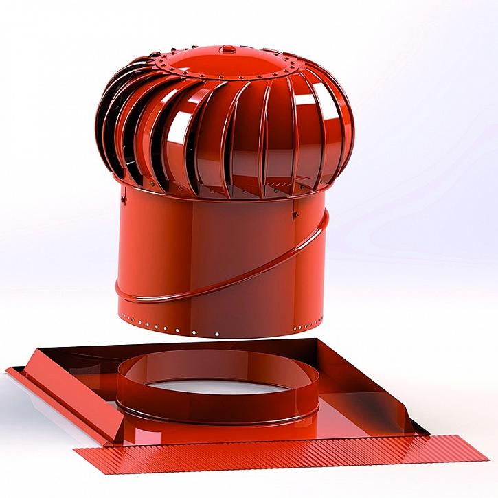 Ventilační turbíny odvětrají i prostory bez oken